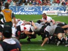 Rugby scrum science video