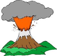 Make a vinegar volcano with baking soda & vinegar - Fun Science ...