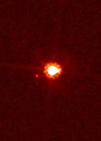 An image of the distant dwarf planet Eris