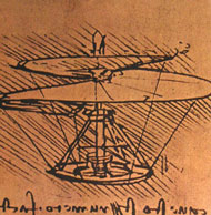 Helicopter design sketch