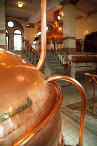 Copper tank and pipes