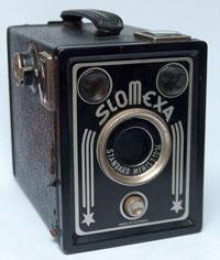Old camera box
