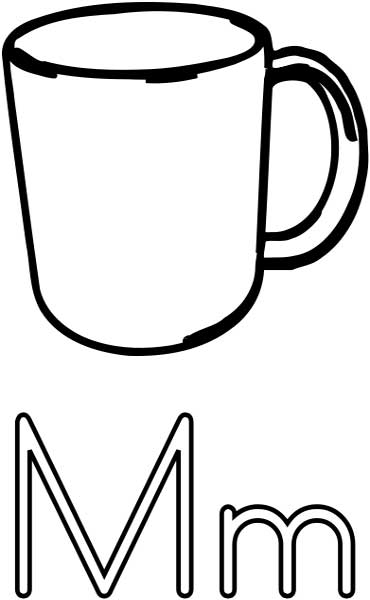 love letter m coloring pages. letter m coloring pages. letter m ... | 600x370