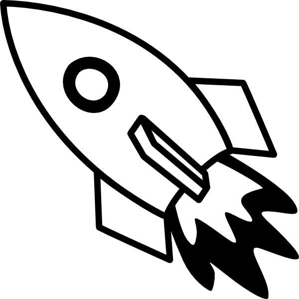 Nerdy image inside rocket printable