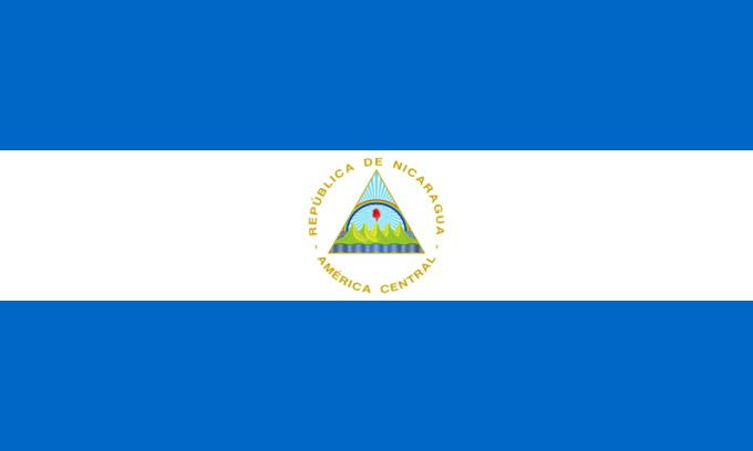 Nicaragua Flag  Free Pictures of National Country Flags