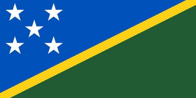 Flag of the Solomon Islands