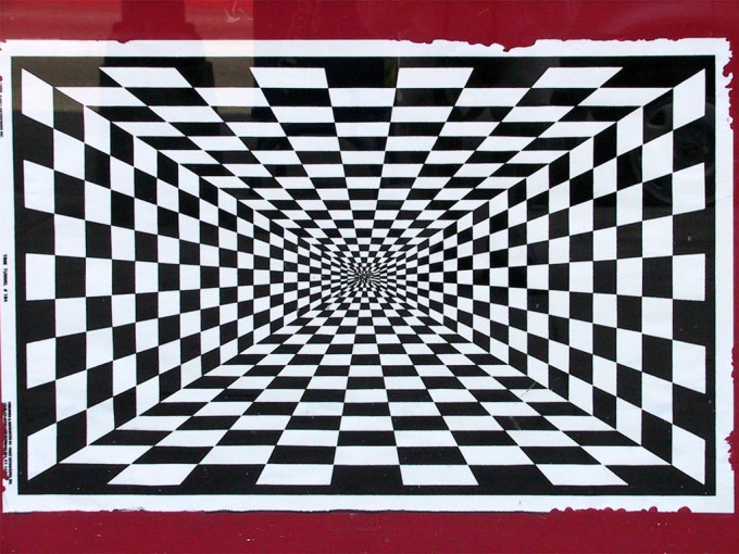 Depth Perception Optical Illusions