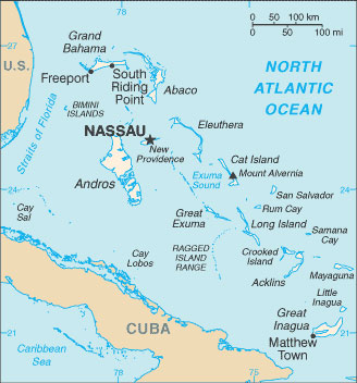 Bahamas Map With Cities Free Pictures Of Country Maps - Major cities map of cuba