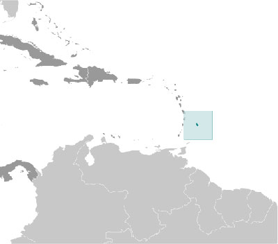 Barbados location