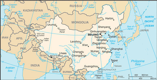China Map With Cities Free Pictures Of Country Maps - Cities map of china