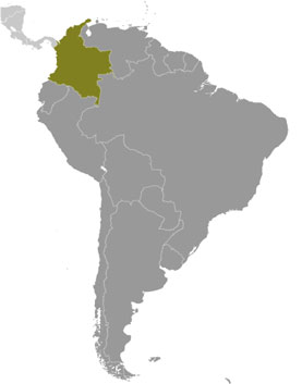 Colombia location