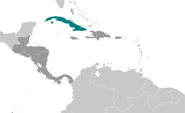 Cuba Map with Cities - Free Pictures of Country Maps Capital Of Cuba Map on