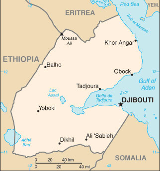 Djibouti Map With Cities Free Pictures Of Country Maps - Djibouti maps with countries