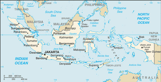 Indonesia Map With Cities Free Pictures Of Country Maps - Indonesia maps with countries