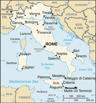 Italy Map With Cities Free Pictures Of Country Maps