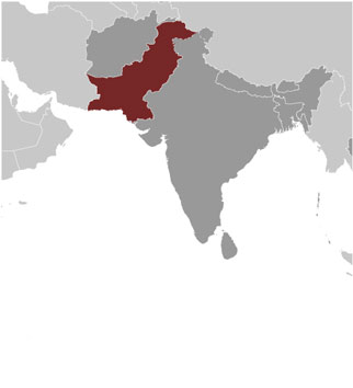 Pakistan Map with Cities - Free Pictures of Country Maps