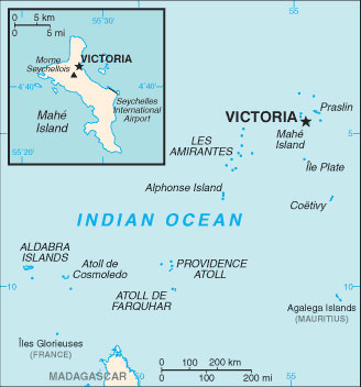 Seychelles Map With Cities Free Pictures Of Country Maps