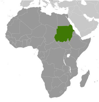Sudan location