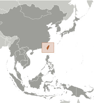 Taiwan Map with Cities - Free Pictures of Country Maps