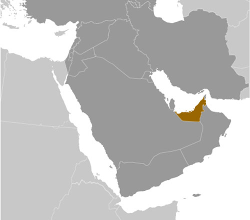 United Arab Emirates location
