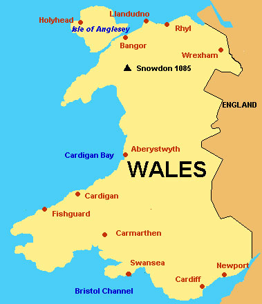 Map Of England Showing Major Cities.Wales Map With Cities Free Pictures Of Country Maps
