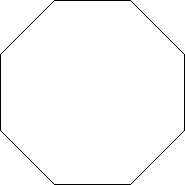 Shape Definition In Art : Octagon définition what is