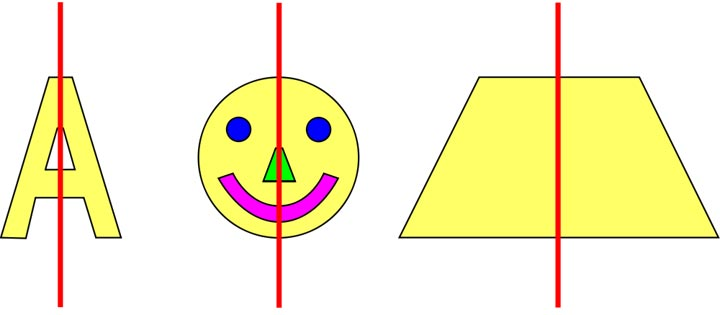 Simple Definition Of Line In Art : Symmetry math pictures images clip art