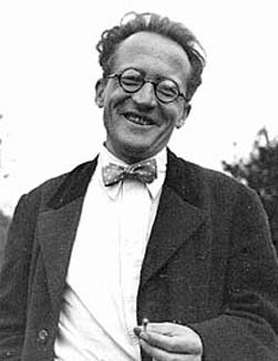 This photo shows Austrian theoretical physicist Erwin Schrodinger. He was famous for his work on quantum mechanics and won the Nobel Prize in 1933.
