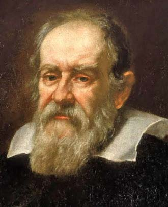This image is of Italian scientist Galileo Galilei, a brilliant astronomer who made many contributions to the world of science.
