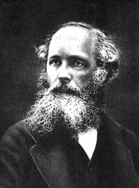 This image is of James Maxwell, a Scottish theoretical physicist who made important contributions to electromagnetic theory.