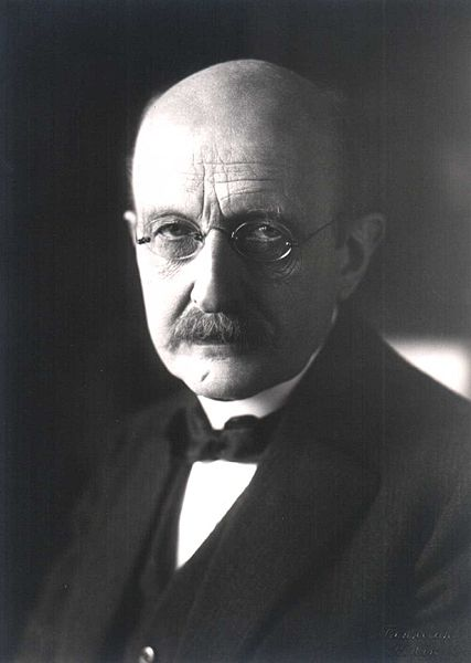 This image is of Max Planck, one of the 20th century's most important physicists, helping found quantum theory and earning the Nobel Prize in Physics in 1918.
