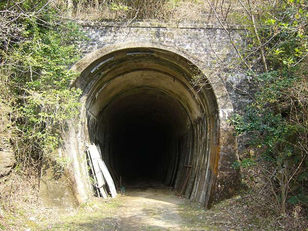 Train Tunnel Entrance