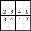 Easy sudoku puzzle number 2