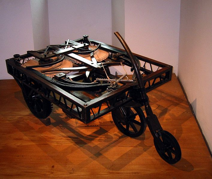 Who Invented The Automobile: Early Automobile Invention By Leonardo Da Vinci