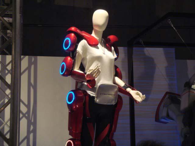 پوشش روبوتیک جهت افزایش قدرت.جندی شاپور البرز